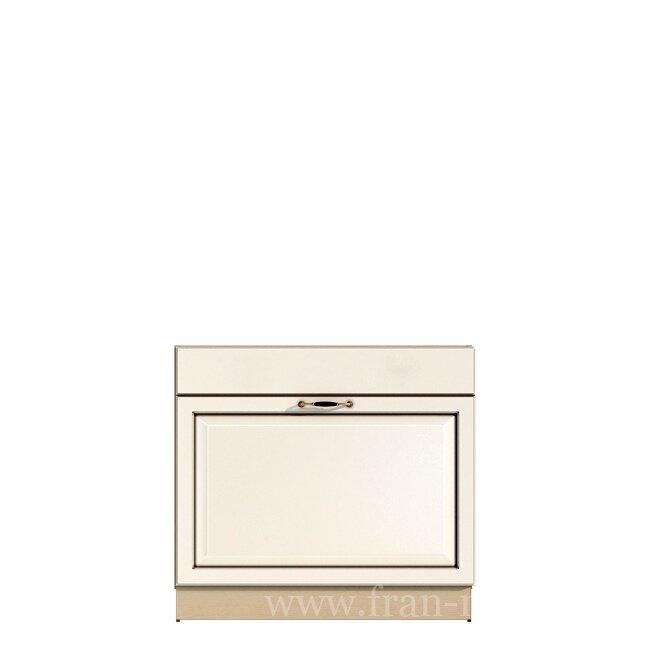 Кухня Барбара Люкс (Дана), Стол под мойку, СМ-90/82 Слоновая кость ФРАН Стол под мойку на 90 см. Данный стол комплектуется большим выдвижным ящиком, посмотрите внутреннее наполнение чтобы увидеть как это реализовано.
