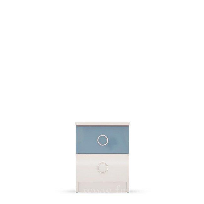 Детская Ниагара (Прованс), Тумба прикроватная СВ-351 Ниагара (Прованс) голубой