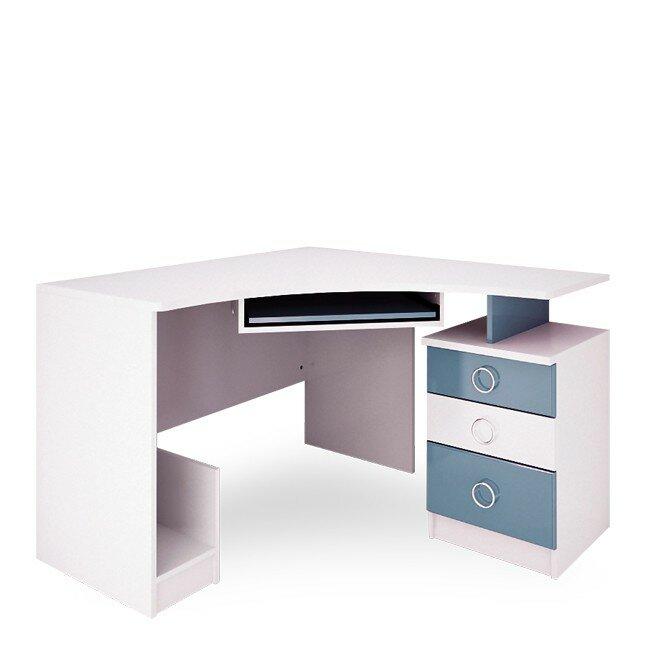 Детская Ниагара (Прованс), Стол компьютерный СВ-353 Ниагара (Прованс) голубой