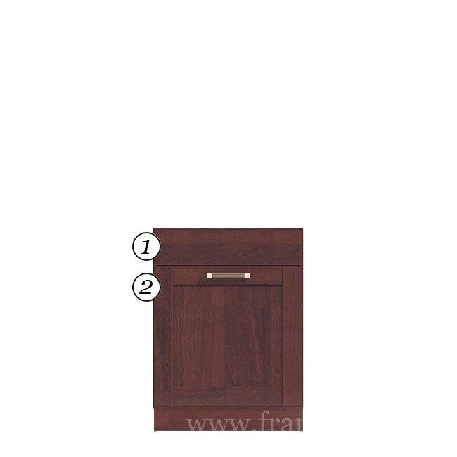 Кухня Катрин Шейкер (Лара), Стол под мойку, СМ-60/82 Орех ФРАН Стол под мойку на 60 см. Данный стол комплектуется большим выдвижным ящиком, посмотрите внутреннее наполнение чтобы увидеть как это реализовано.